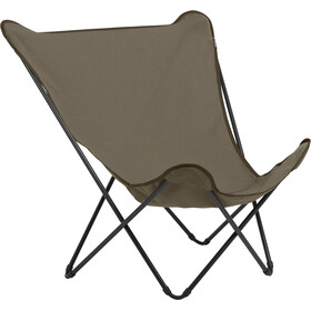Lafuma Mobilier Pop Up XL Sgabello pieghevole Airlon + Uni marrone/nero